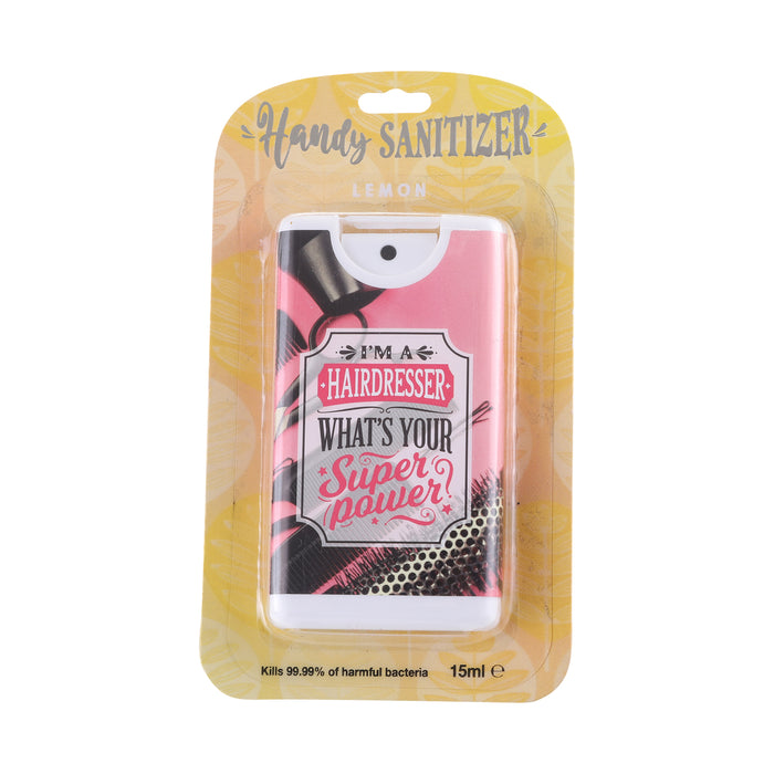 Handy Sanitizer Hairdresser - What's Your Super Power?