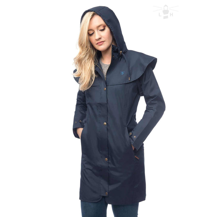 Women's Outrider Waterproof Coat Nightshade