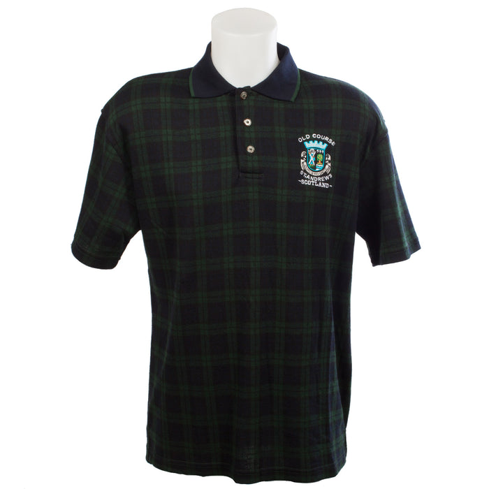 Tartan Old Course Polo Shirt