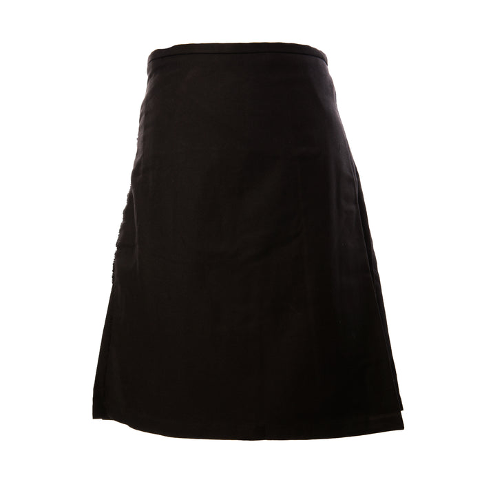 Gents Full Deluxe Kilt Black
