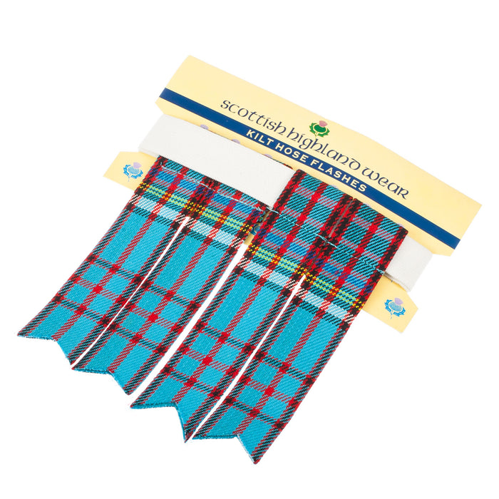 Traditional Polyviscose Tartan Flashes Anderson