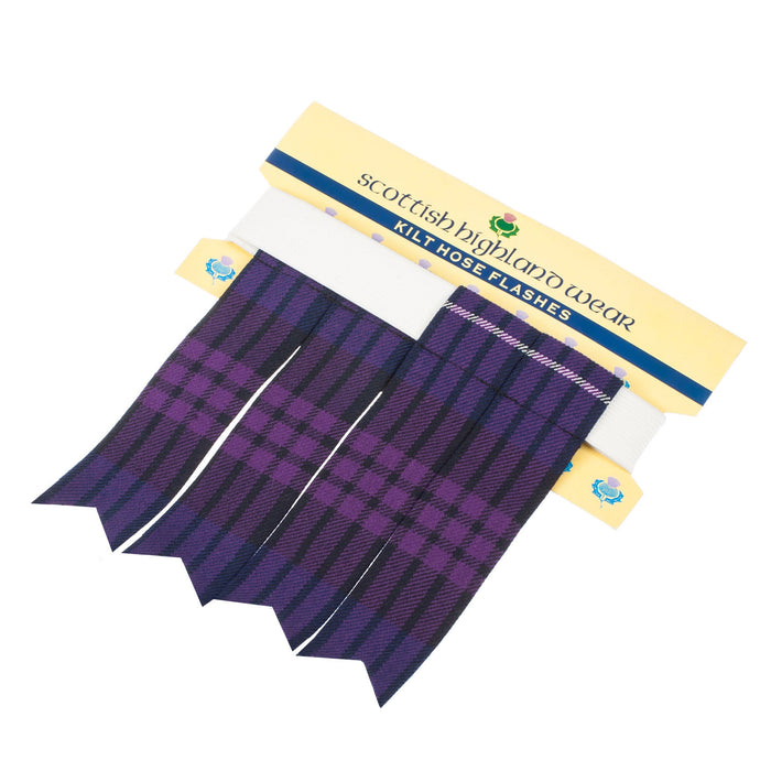 Traditional Polyviscose Tartan Flashes Heritage Of Scotland