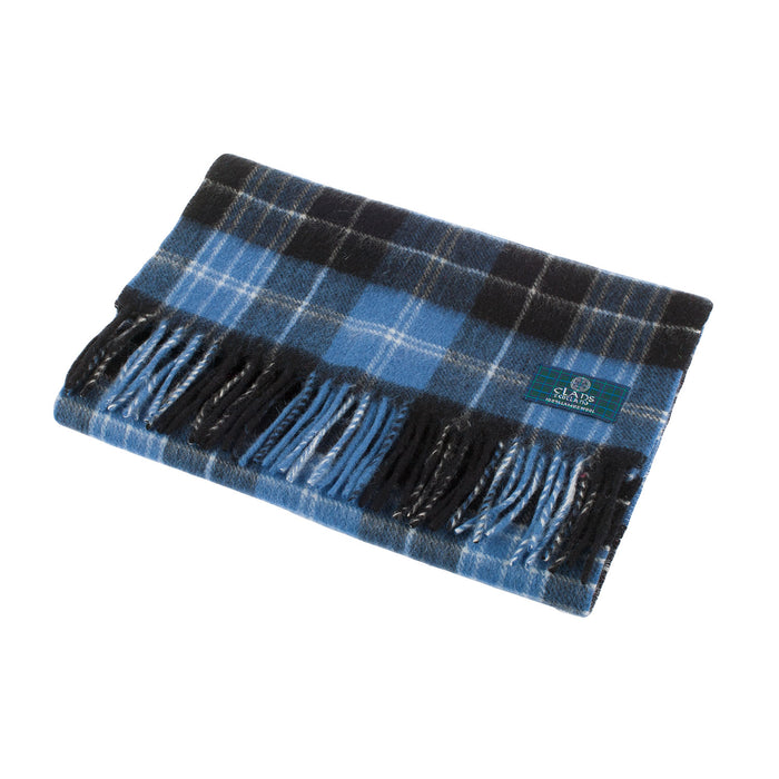 Clans Of Scotland Pure New Wool Scottish Tartan Scarf Clark Ancient