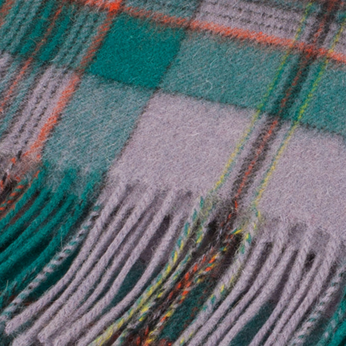 Clans Of Scotland Pure New Wool Scottish Tartan Scarf Craig Ancient