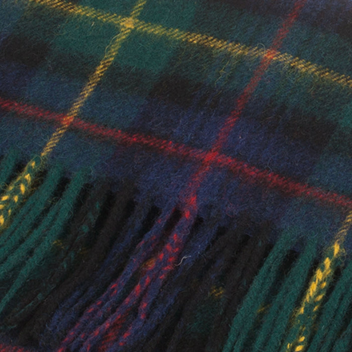Clans Of Scotland Pure New Wool Scottish Tartan Scarf Farquharson