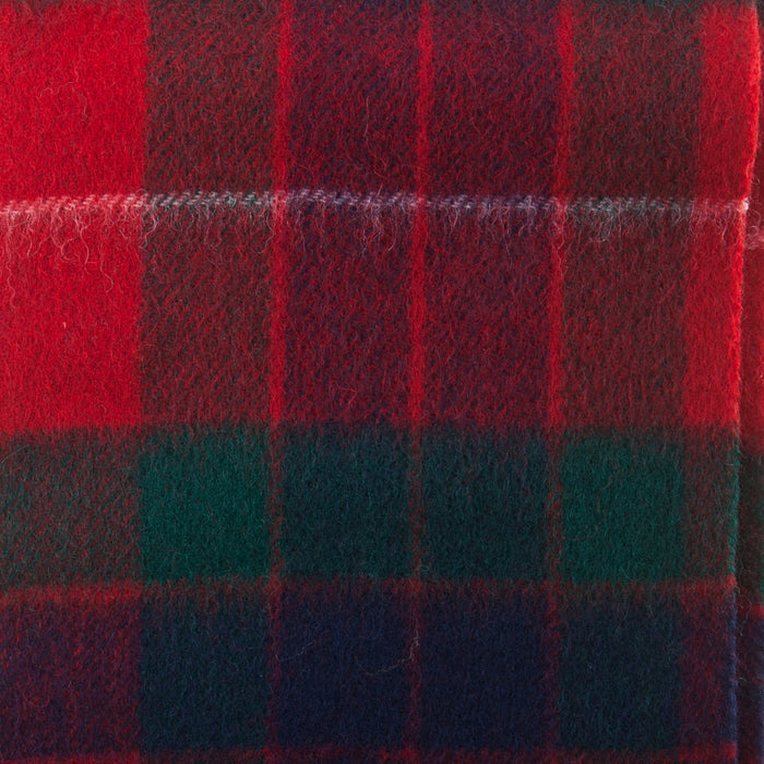 Clans Of Scotland Pure New Wool Scottish Tartan Scarf Fraser Red