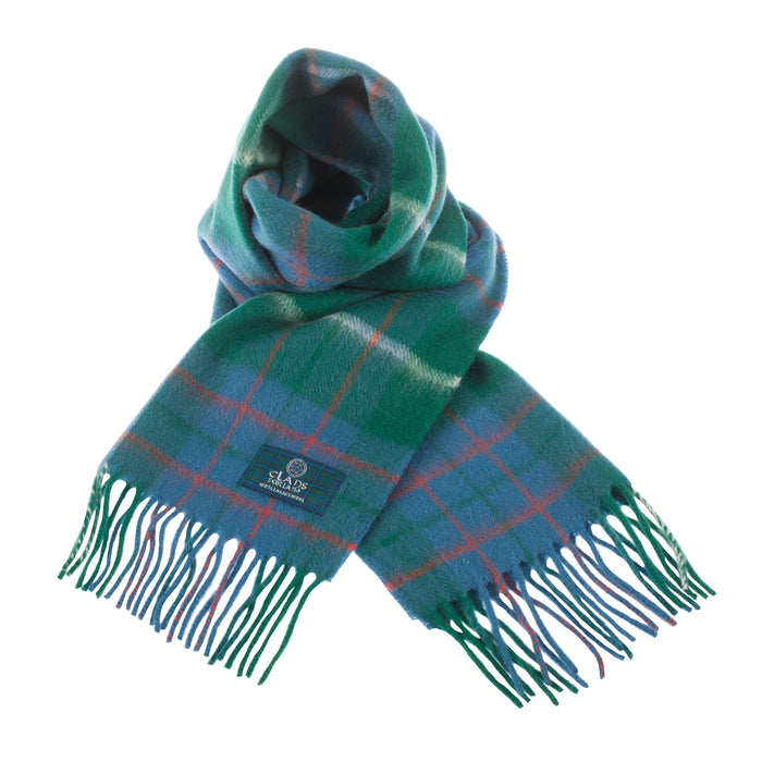 Lambswool Scottish Tartan Clan Scarf  Macintyre Hunting Ancient