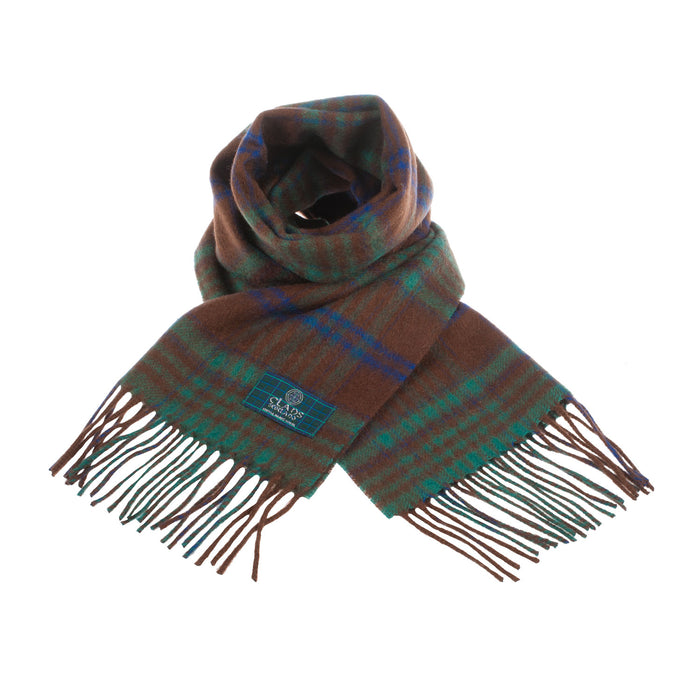 Clans Of Scotland Pure New Wool Scottish Tartan Scarf Macgillivray Hunting Ancient