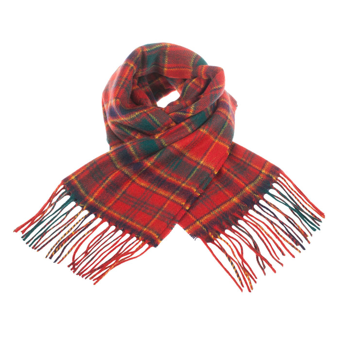 Clans Of Scotland Pure New Wool Scottish Tartan Scarf Munro