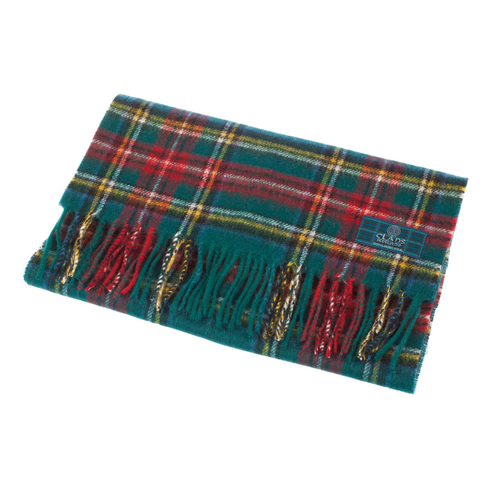 Clans Of Scotland Pure New Wool Scottish Tartan Scarf Princess Mary