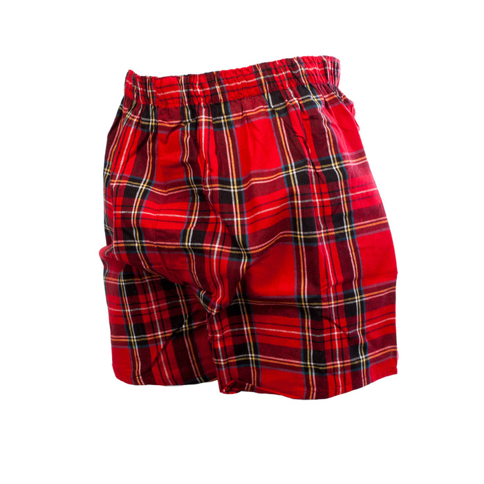 Gents Tartan Boxer Shorts Stewart Royal