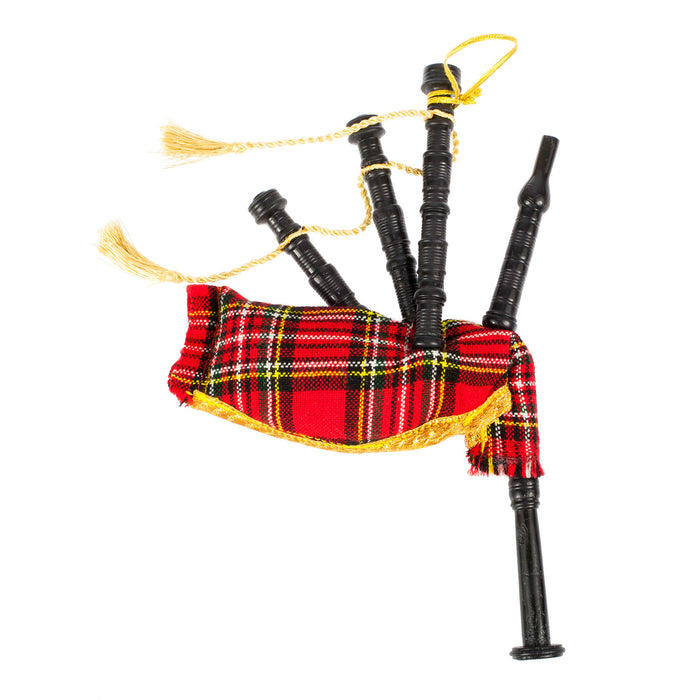 Decoration Bagpipes Stewart Royal
