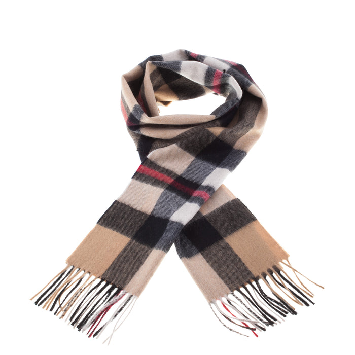 Edinburgh Cashmere Scarf  Exploded Thomson Camel