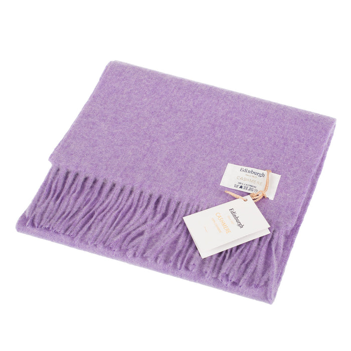Edinburgh Cashmere Scarf  Heather