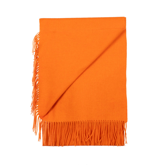 Edinburgh Lambswool Stole  Orange Ssg
