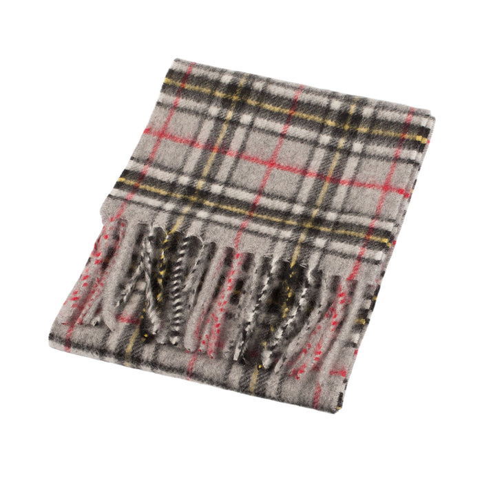 Edinburgh Cashmere Mini Scarf  Thomson Grey