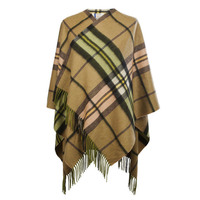 Edinburgh Cashmere Mini Cape  Sherwood Gold B