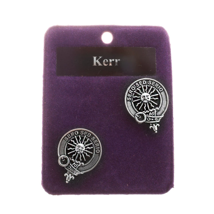 Clans Of Scotland Pewter Scots Clan Cufflinks Kerr