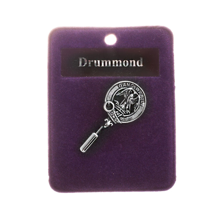 Clan Lapel Pin Drummond