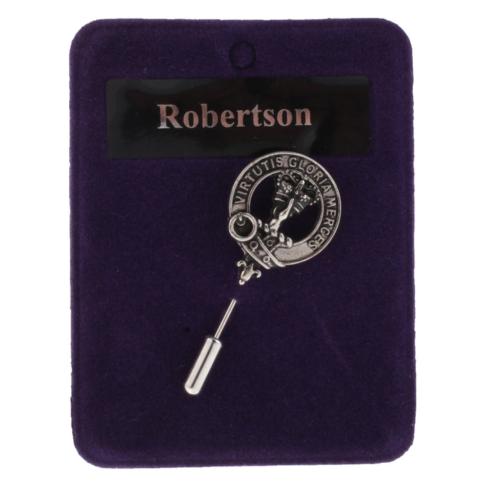 Clan Lapel Pin Robertson