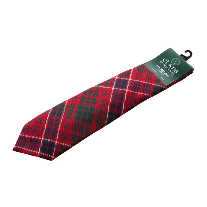 Clan Tie Macrae Red