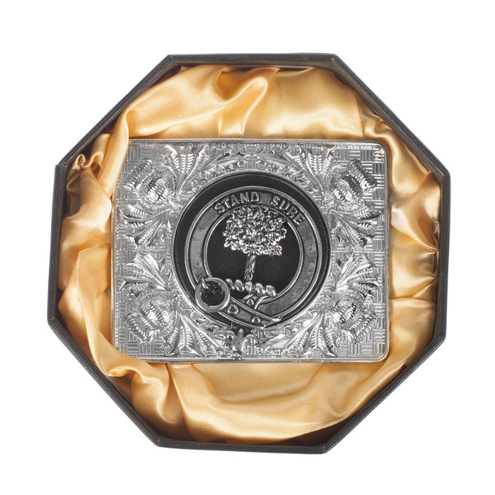 Clans Of Scotland Crested Belt Buckle Anderson
