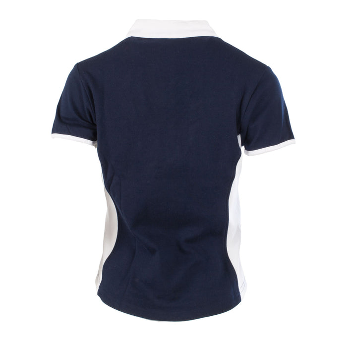 Rugby Nations Women's Short Sleeve Fashion Collar Rugby Shirt