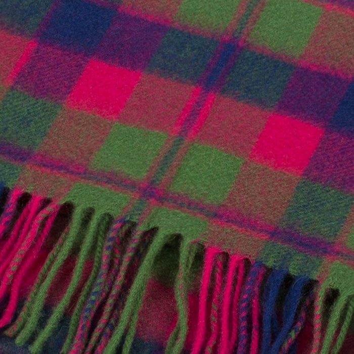 Cashmere Scottish Tartan Clan Scarf  Glasgow