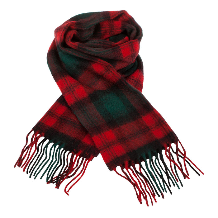 Clans Of Scotland Scottish Tartan Cashmere Scarf Kerr