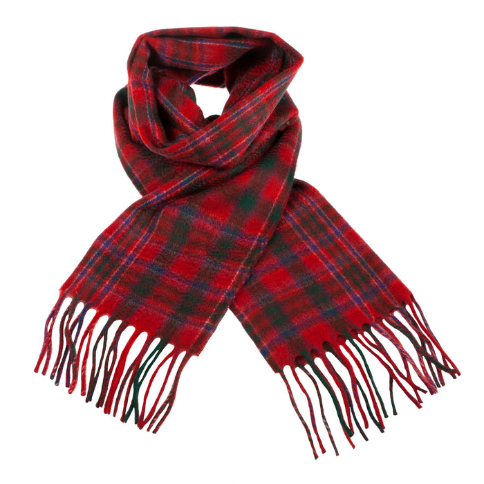 Clans Of Scotland Scottish Tartan Cashmere Scarf Macalister