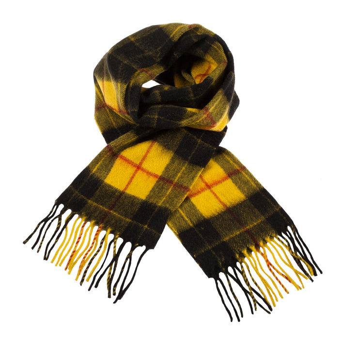 Cashmere Scottish Tartan Clan Scarf  Macleod Dress