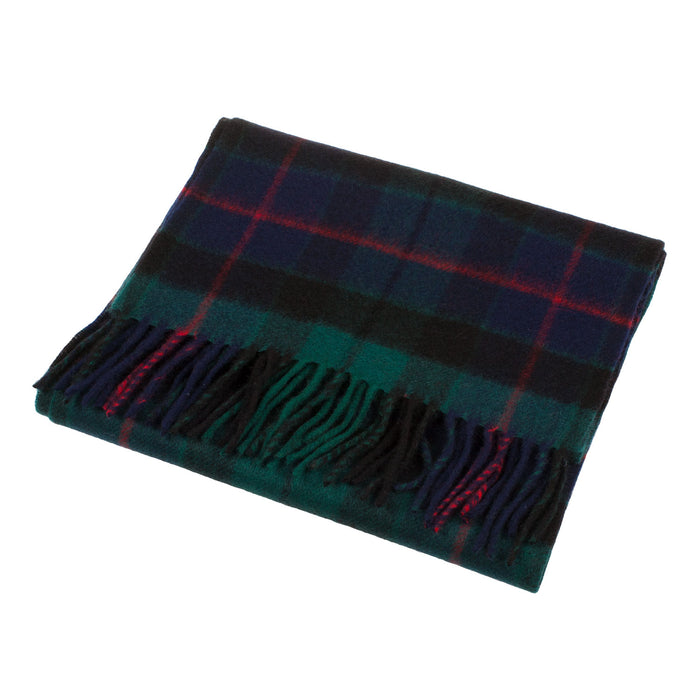 Clans Of Scotland Scottish Tartan Cashmere Scarf Morrison Green
