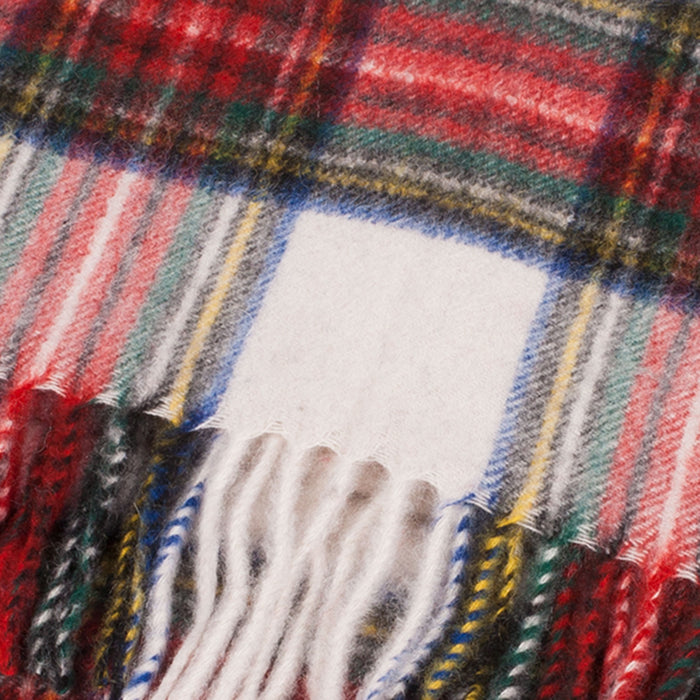 Cashmere Scottish Tartan Clan Scarf  Stewart Dress