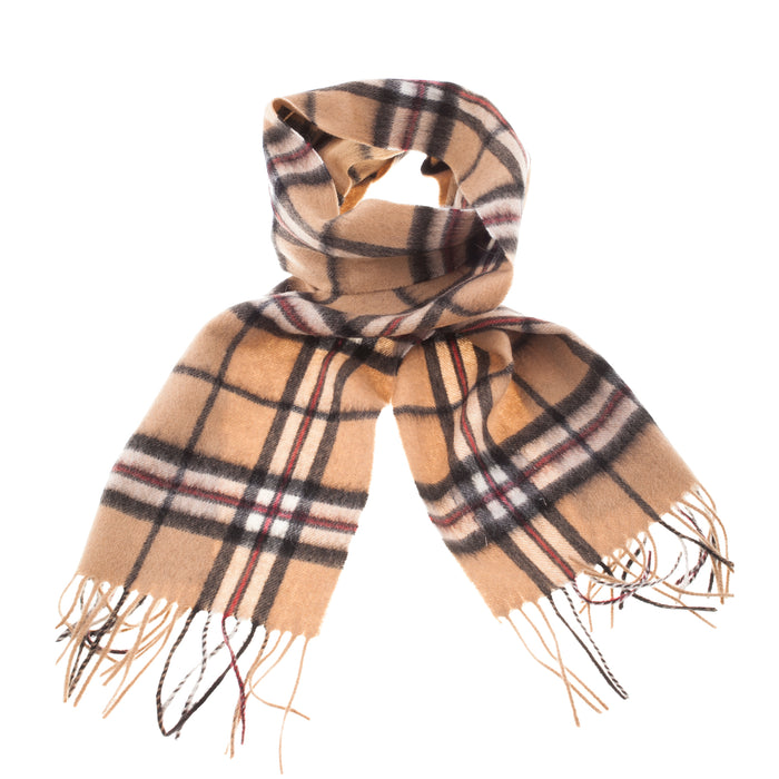 Lyle & Scott 100% Lambswool Scarf  Thomson Camel