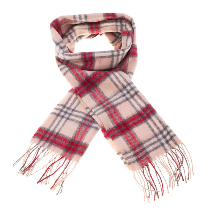 Edinburgh Cashmere Scarf  Montgomerie/Natural-Grey-Red