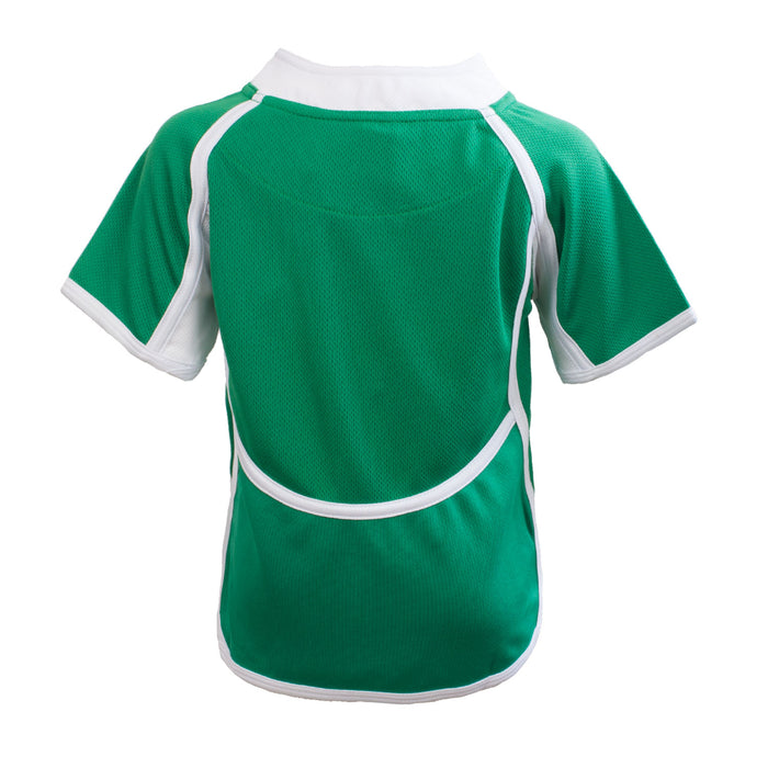 Kids Cooldry Ireland Rugby Shirt