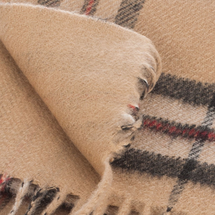 Cashmere Double Faced Scarf Thomson Camel/Camel