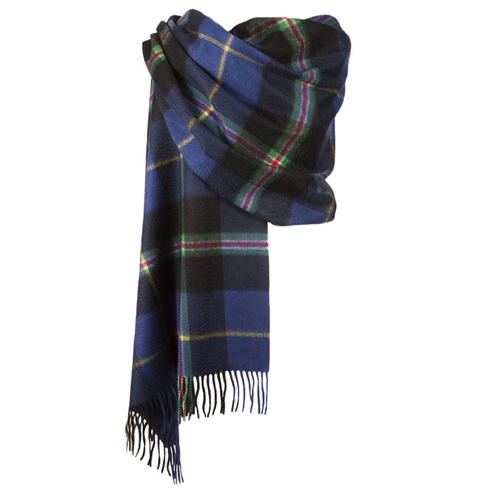 Dunedin Cashmere Big Check Stole  Italian National