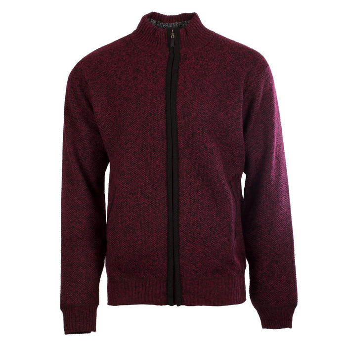 Men's Full Zip Sweater
