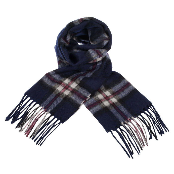 Edinburgh Cashmere Scarf  Thomson Navy