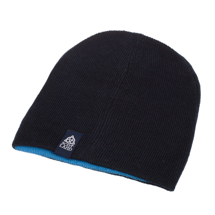 Scotland Reversible Lion Badge Beanie