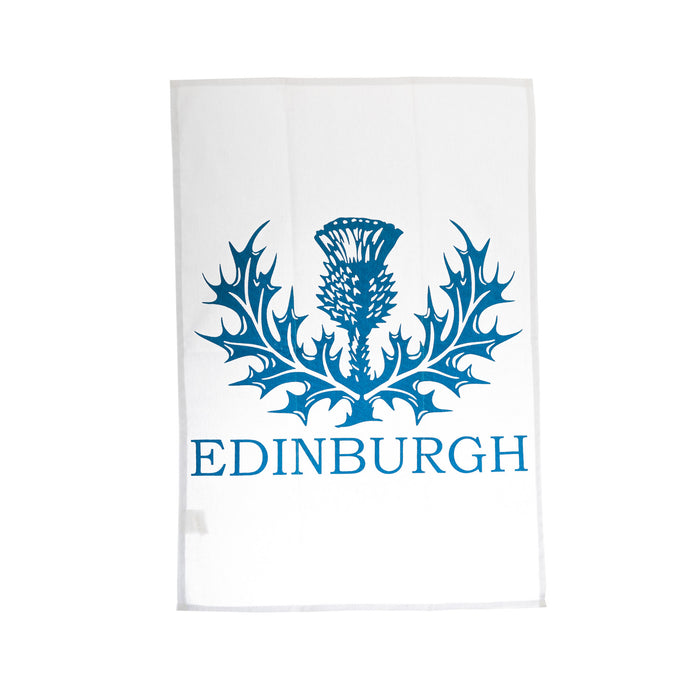 Edinburgh Thistle Tea Towel