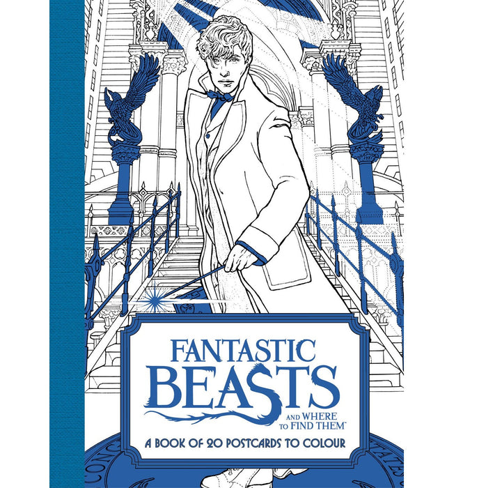 Fbeasts: 20 Postcards To Colour