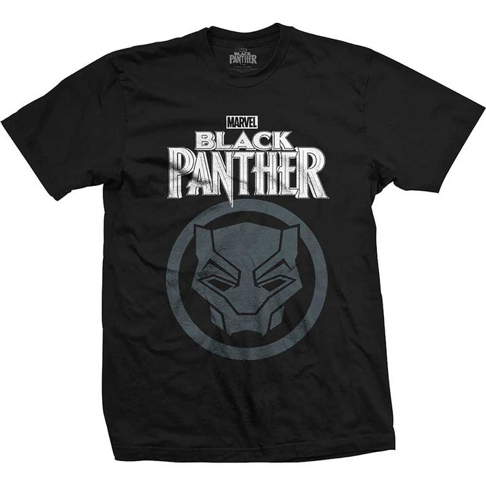 Black Panther Big Icon Mens Tshirt