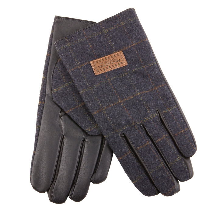 Men's Heritage Traditions Tweed Gloves