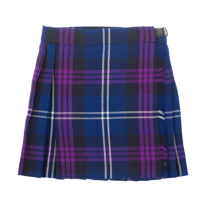Girls Tartan Kilt Heritage Of Scotland
