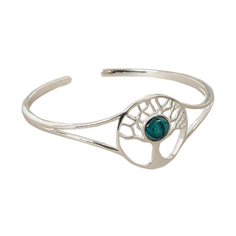 Heathergem Tree Of Life Plated Bangle
