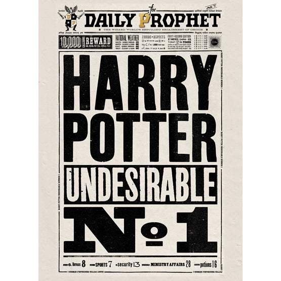 Daily Prophet - Undesriable No. 1