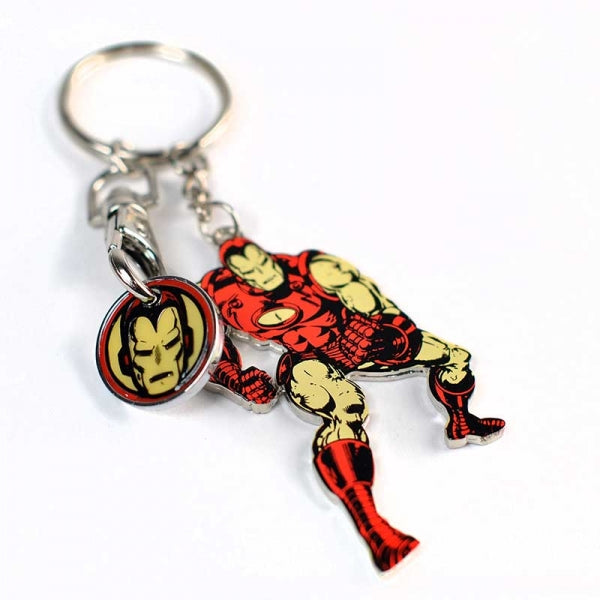 Keyring Trolley Coin - Marvel (Iron Man)
