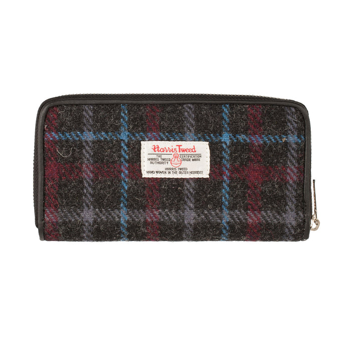 Women's Harris Tweed Staffa Zip Purse
